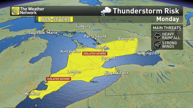 News - What to expect from the rest of Ontario's long weekend - The Weather Network