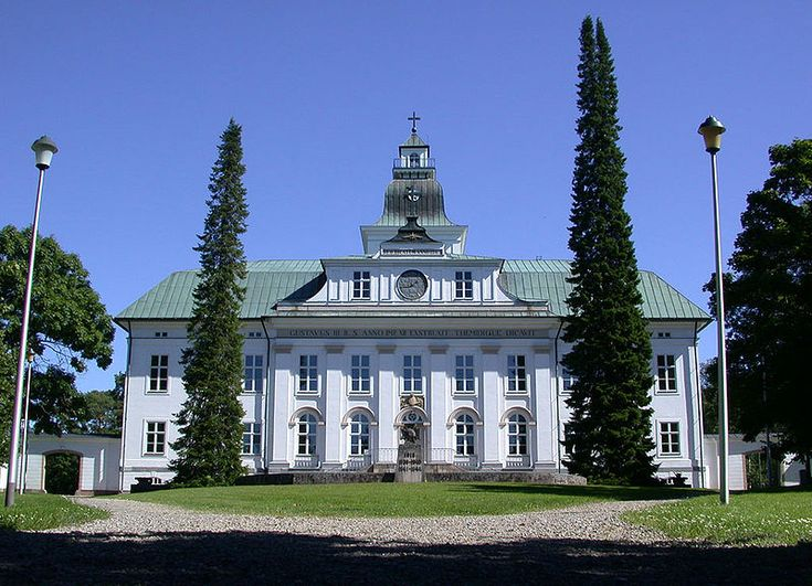 Korsholm Church In Vaasa, Finland.