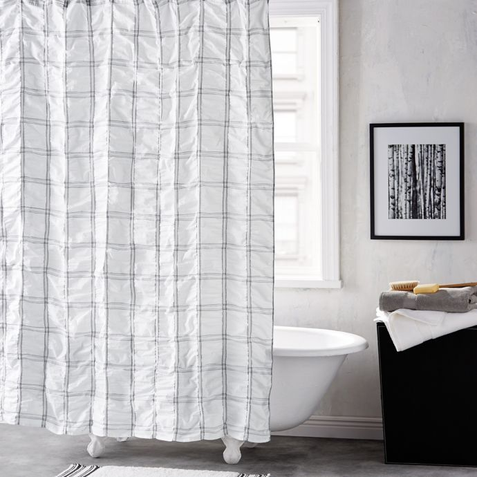 Dkny Check Please 72 Inch Shower Curtain Bed Bath Beyond