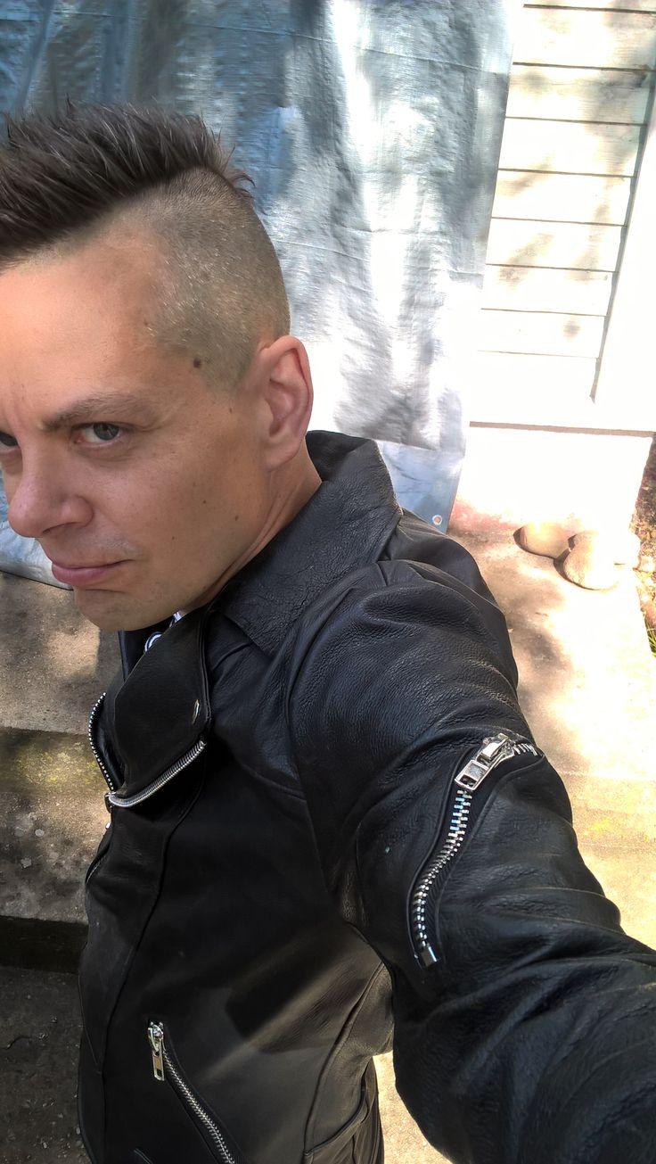 Pelechecoco Kurt biker leather jacket