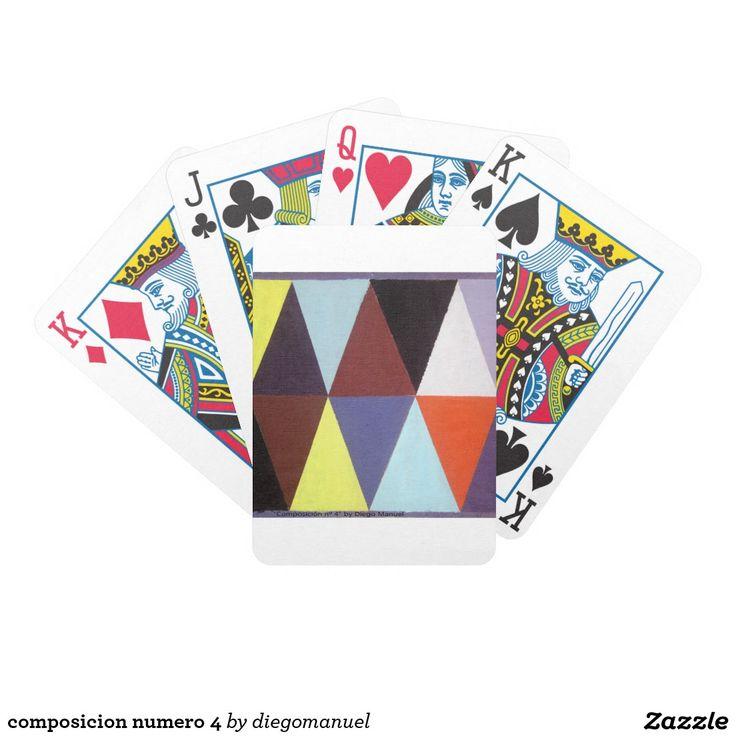 composicion numero 4 cartas de juego
