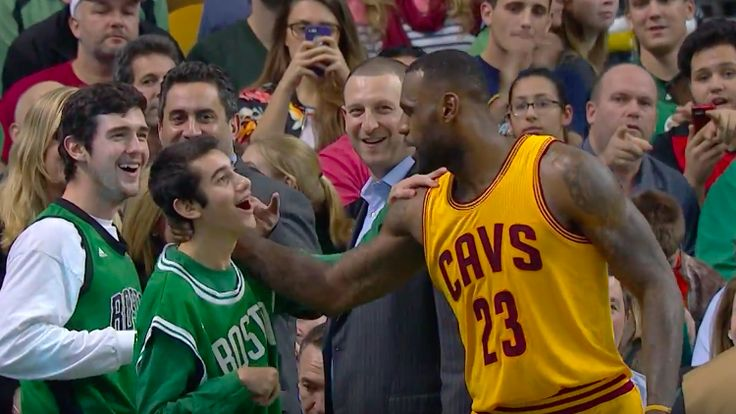 LeBron James Honors Special Olympian