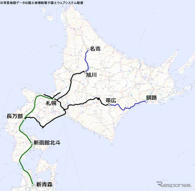 【悲報】 2030年のJR北海道の路線図wwwwwwwwwwwwwwwwwwwww