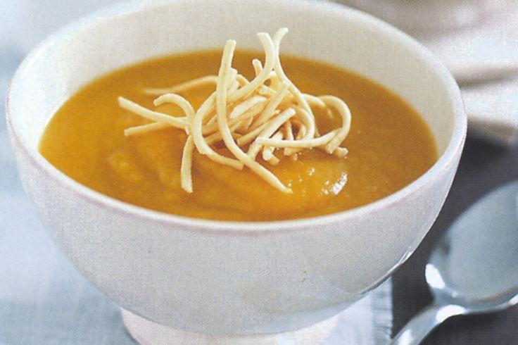 A nourishing pumpkin soup to keep you warm this winter.