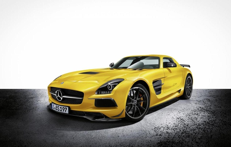 Today's Story: 2014 Mercedes-Benz SLS AMG Black Series Officially Revealed
