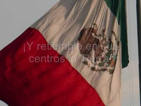 Letra del Himno Nacional Mexicano (Completa). - YouTube