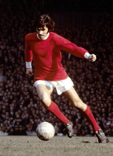 #GeorgeBest. A one off genius. #Goalhangers salute you.