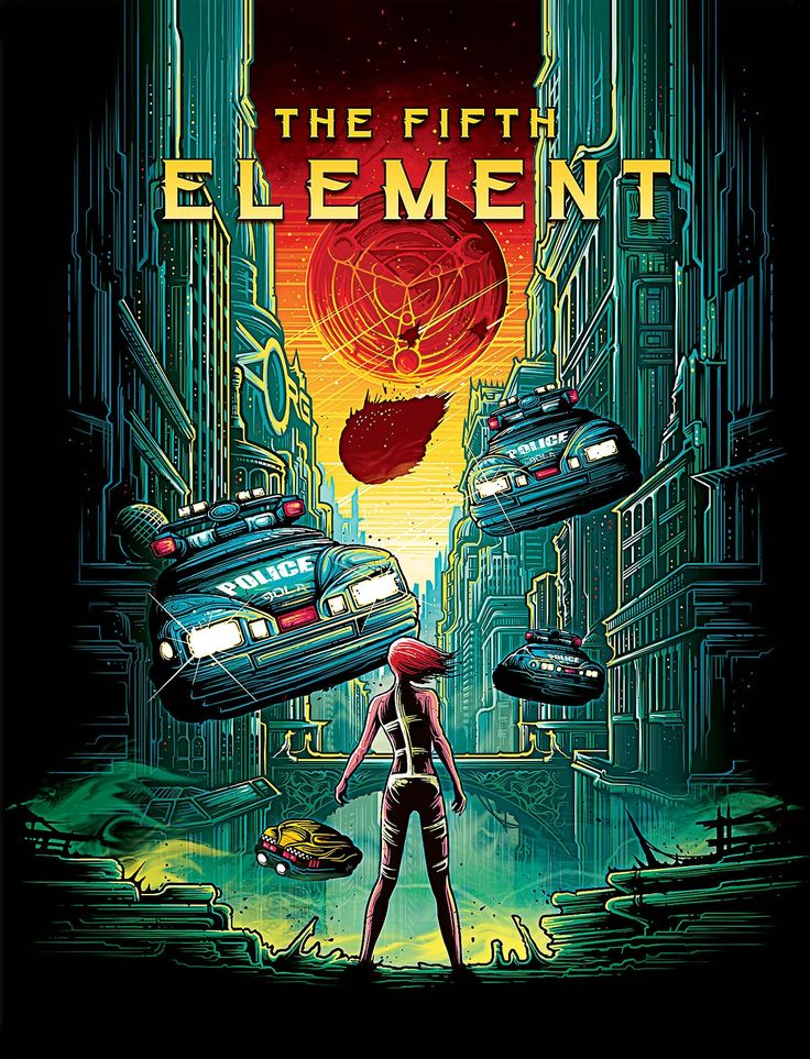 The Fifth Element by Dan Mumford