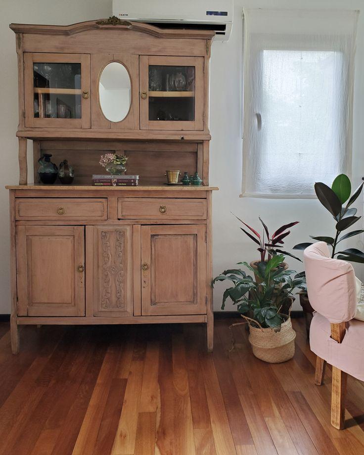 Un cambio sutil para mi vajillero / Vero Palazzo - Home Deco Living Comedor, Palazzo, Double Vanity, Cabinet, Storage, Furniture, Home Decor, Teen Furniture, Wood Cutouts