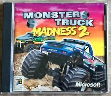 Monster Truck Madness 2 ~ PC CD Rom Video Game ~ Microsoft Windows
