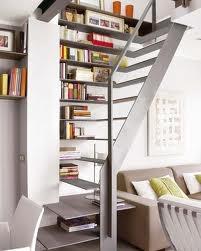 bookshelf/stair