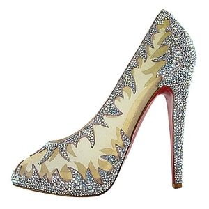 christian louboutin lili marlene wedding shoes