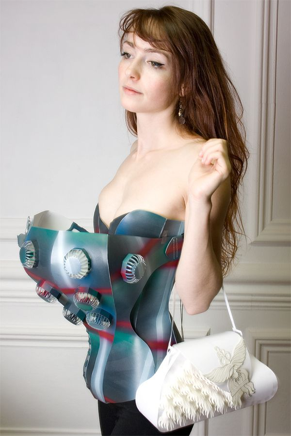Paper Dress No. 60  by Tobias Binderberger