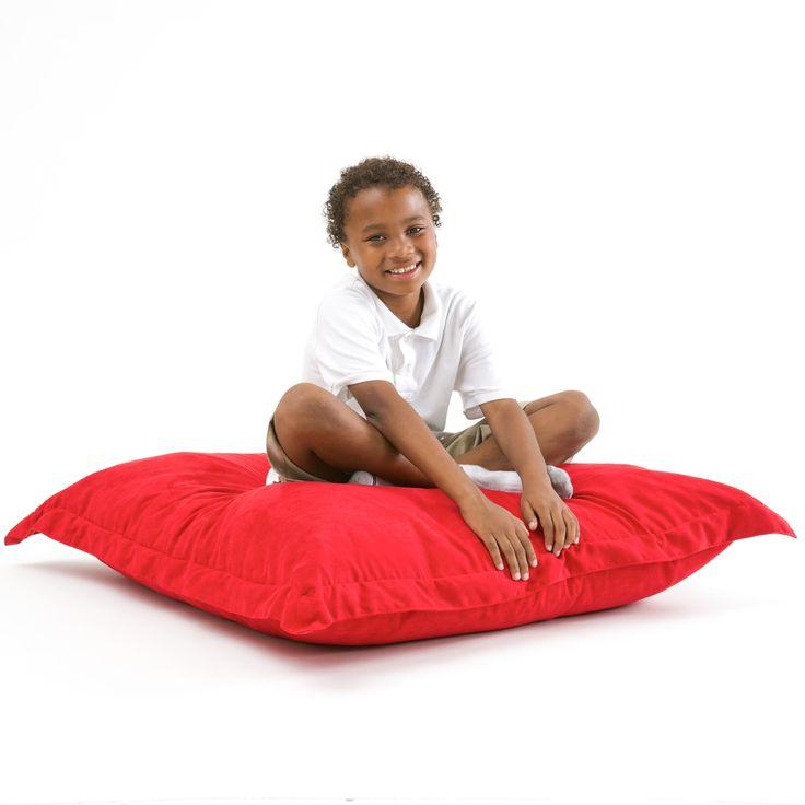 Loren Chinese Red Bean Bag Lounge Pillow