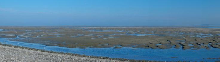 Baie de Somme, un matin bleu.