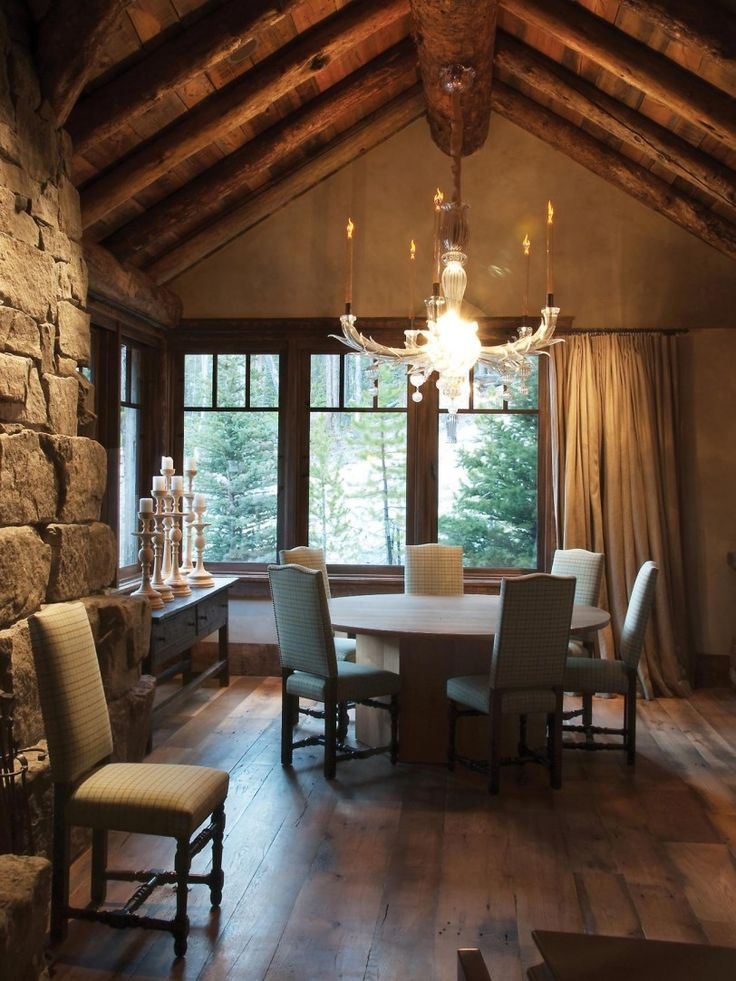 Rustic Dining Room Design With Traditional Nuance Formal Meets In An Elegant Ideas