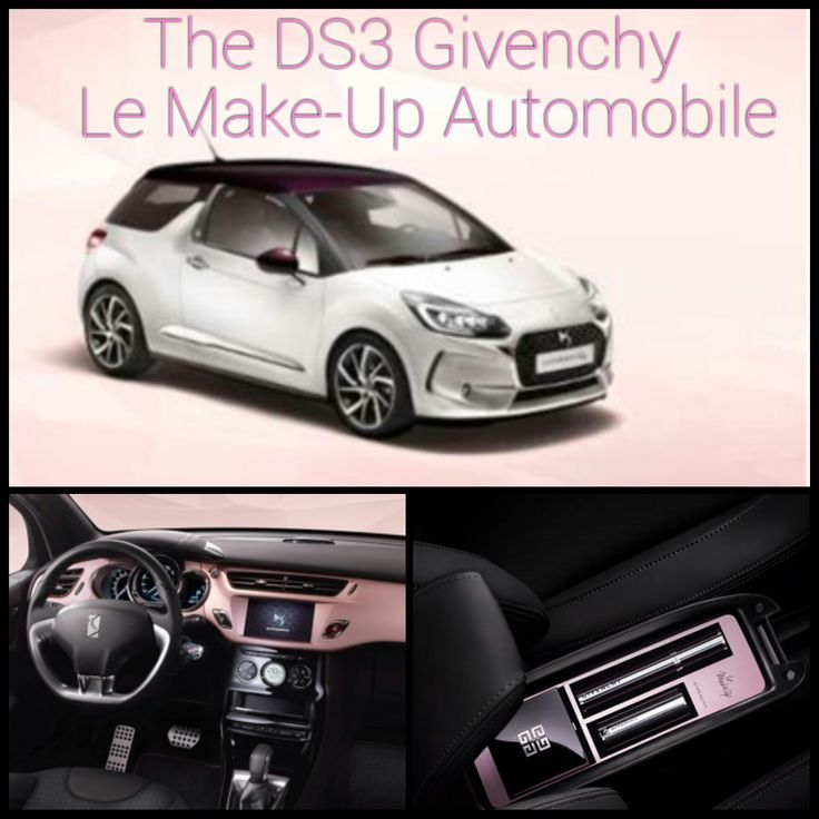 For all who love make-up, beauty and want to drive around in a car that represents it all: Givenchy has teamed up with French car manufacturer DS Automobiles to create a limited edition model – the DS3 Givenchy Le MakeUp. http://www.missfashionnews.com/2016/05/14/givenchy-ds-automobile/
