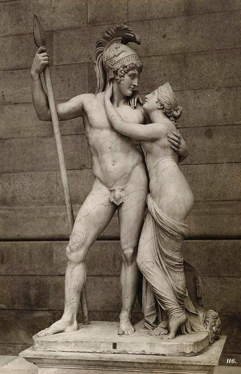 Venus and Mars. Antonio Canova. Italian. 1757-1822. Women are from Venus-Men are from Mars