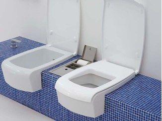 Ceramic toilet UNA | Toilet - CERAMICA FLAMINIA