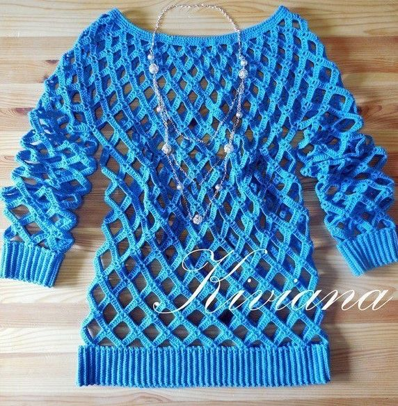 Click to view pattern for - Crochet pullover