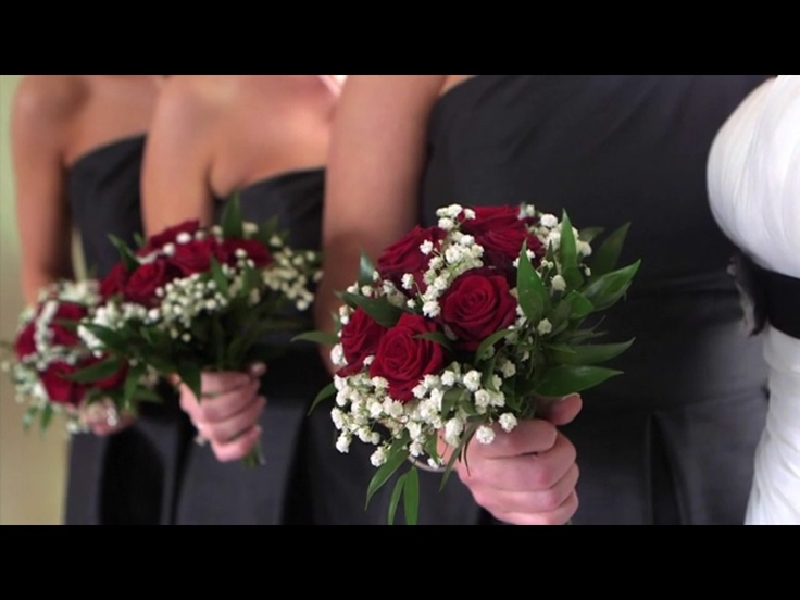 Wedding Flowers - Red Roses