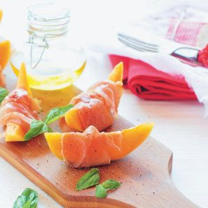 Melon and Parma Ham Wedges #Easy #Recipe #SouthAfrica