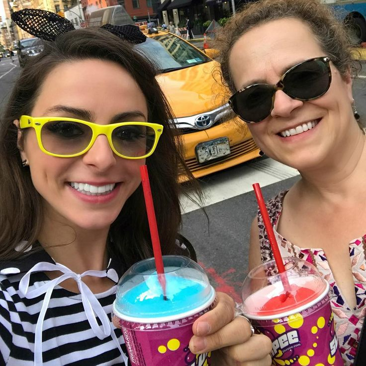 I refuse to wait in any nyc line ...unless it's for a #711 slurpee on free slurpee day 😝😝😝 About to change my look and see how many I can times I can get thru and embarrass my mom 😏