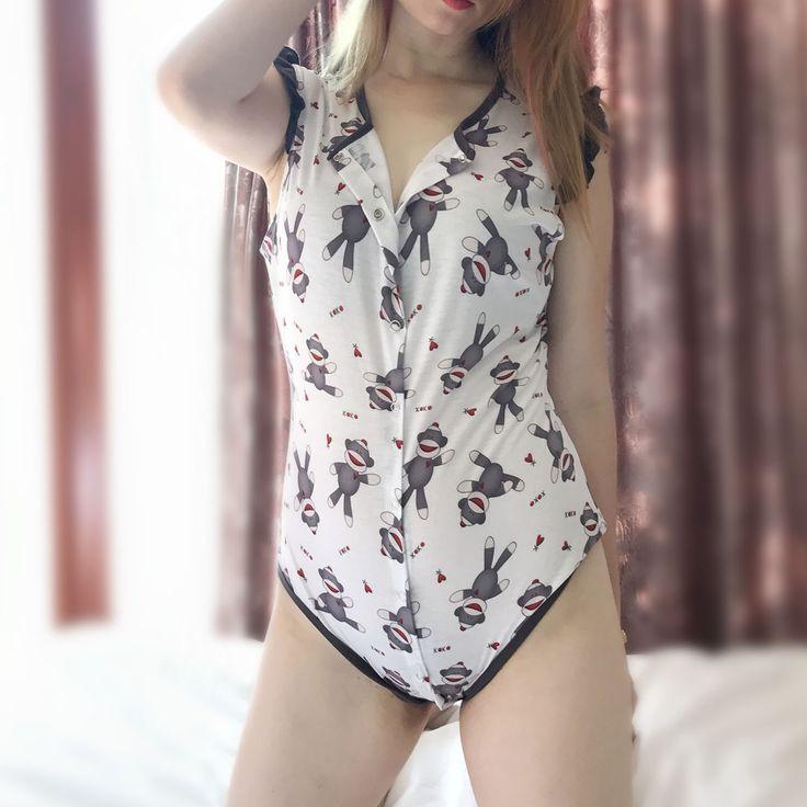 Rompers Womens Abdl Jumpsuit Bodysuit Women Sissy Lingerie