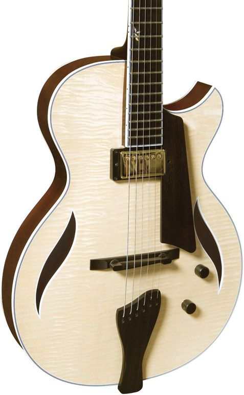 Bambino Deluxe™ - love the natural wood color of my Dad's stunning guitars