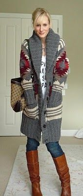 Love the sweater...: Cardigan Fashion, Cardigans, Winter Outfit, Fall Fashion, Travel Outfit, Fashion Dork, Fall Winter
