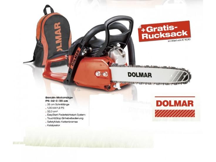 DOLMAR Benzin Kettensäge PS-32 C 35 cm 701165035 4002829765616 | Dolmar Online Shop - Überzeugen Sie sich ...