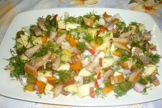 Ρέγγα σαλάτα