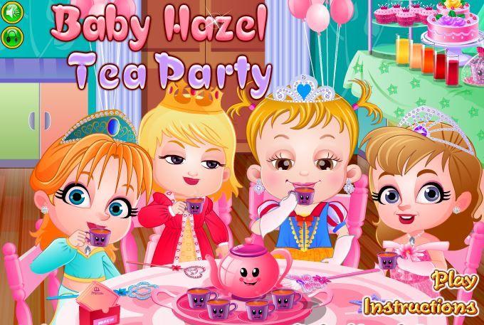 Hazel Bebek Çay Partisi Oyunu:  Hazel bebek bu gün çok heyecanlı arkadaşları için ilk çay partisini verecek be bu yüzden oturduğu yerde duramıyor. Salonda heyecanla bekleyip saçlarını tararken yanına gelen annesi parti için eksikleri almaya çarşıya çıkacağını söyleyince o da eksik süsleri tamamlamaya karar veriyor.  http://www.yenioyunevi.com/hazel-bebek-cay-partisi.html