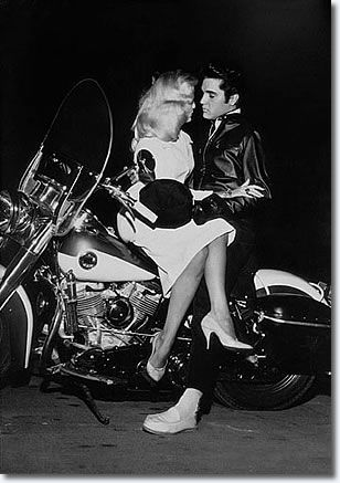 December 1957...Hannerl Melcher met Elvis in Las Vegas in November 1957, and visited Graceland at Christmas time with her roommate, Kathy Gabriel, who was 1957's Miss Ohio at the 'Miss USA' contest. Hannerl was Austria's representative in the 'Miss Universe' pageant. Both contests were held July 19 in Long Beach, CA.    Neither girl won their respective titles.