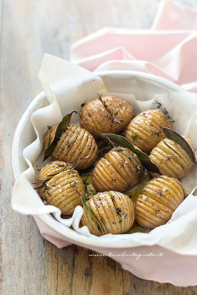 Patate Hasselback - Ricetta Patate Hasselback passo passo