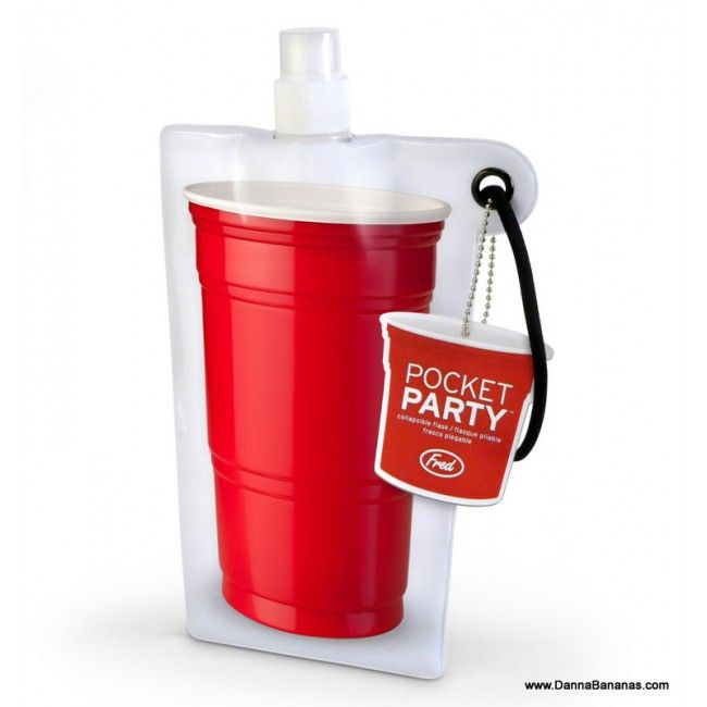 http://www.dannabananas.com/pocket-party/  Pocket Party Collapsible Flask
