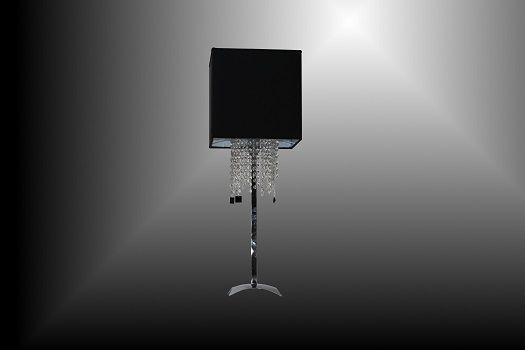 Marla LT Lampada da tavolo dal design elegante, fashion, stilizzato. Adatto per arredare un' angolo della casa o per valorizzare un mobile   SCHEDA TECNICA Dimensioni: Larghezza 30 x 30 cm - Altezza 90 cm   Portalampade: max 1 X 60W E27 / 230V