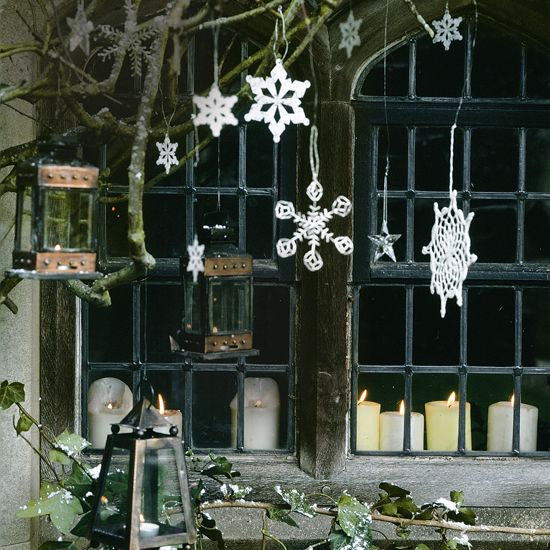 Create a warm welcome this Christmas by adding some festive magic to the outside of your home