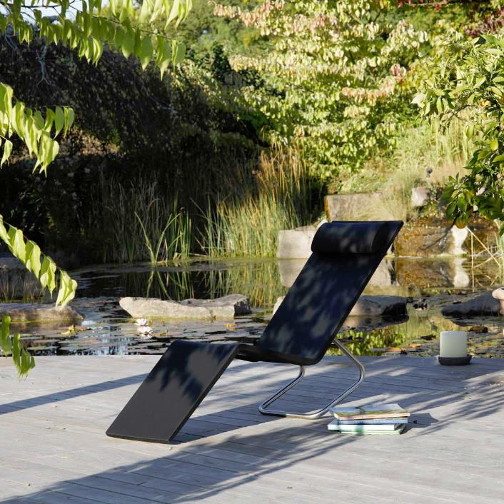 Contemporary lounge chair / polyurethane / metal / outdoor MVS  vitra USA