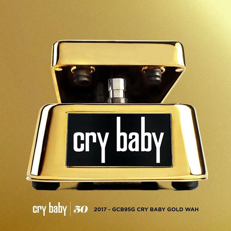 THE EVOLUTION OF THE CRYBABY WAH: 50TH ANNIVERSARY GOLD CRY BABY WAH - 2017 This gold-plated Cry Baby Wah celebrates the 50 years since the original pedal hit the market in 1967 opening a whole new world of sonic expression for guitar players. The Cry Baby Wah is the most iconic guitar effect in music history. When it hit the scene in 1966 it added a whole new layer of expression to the electric guitar-players such as Jimi Hendrix and Eric Clapton used the Cry Baby Wah to create some of the…