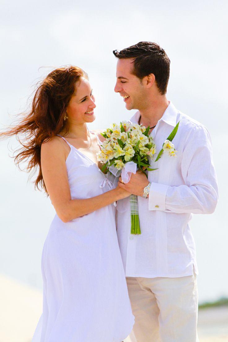 Beach Wedding Attire for groom - Armando DP | JK Guayaberas