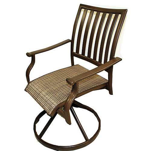 Panama Jack Island Breeze Swivel Dining Chair Set of 2