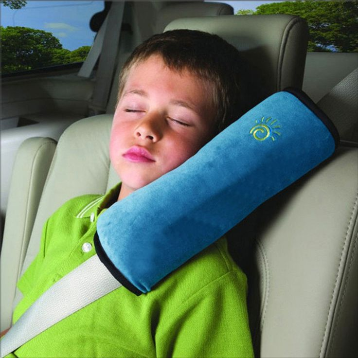 Kid Protector Car Accessories Kid Seat Belt Cover Shoulder Pad Harness Comfortable Soft Pillow 5 Color P006-25