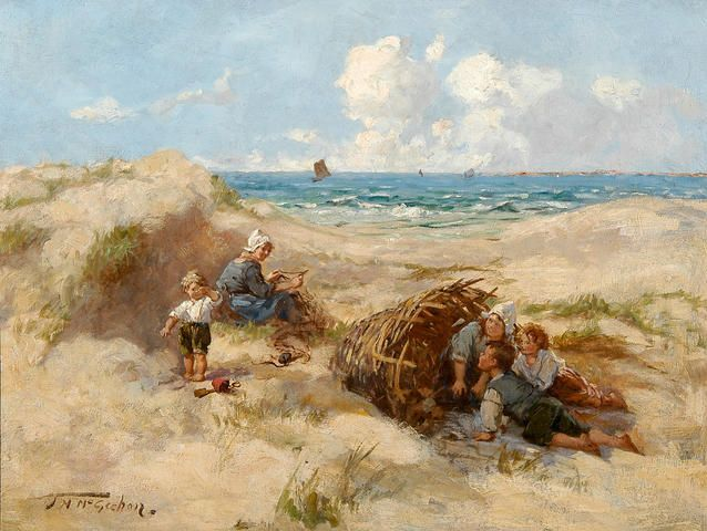Jessie M. McGeehan  A day at the dunes