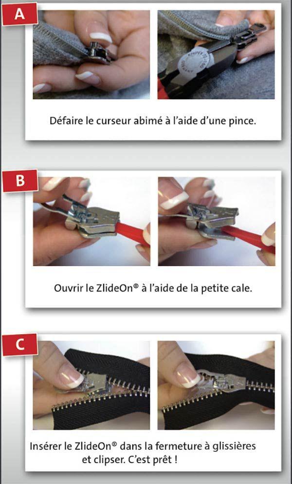 Comment réparer une fermeture à glissières facilement ! « Blog de Petit Citron
