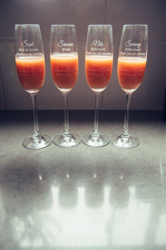 wedding champagne engraved glass #engravedglass #wedding
