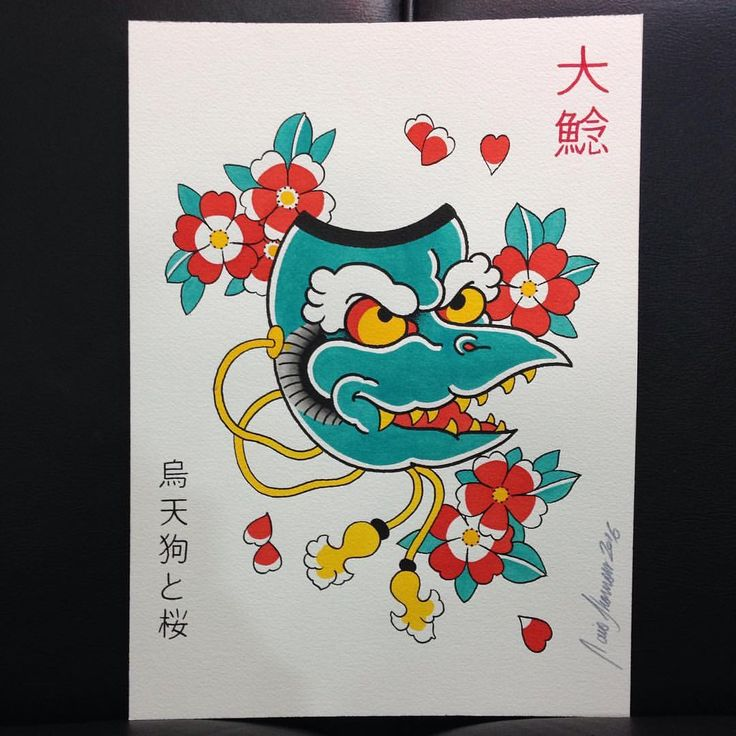 Karasu Tengu - disponível para tatuar! Quem se interessar, envie mensagem no…