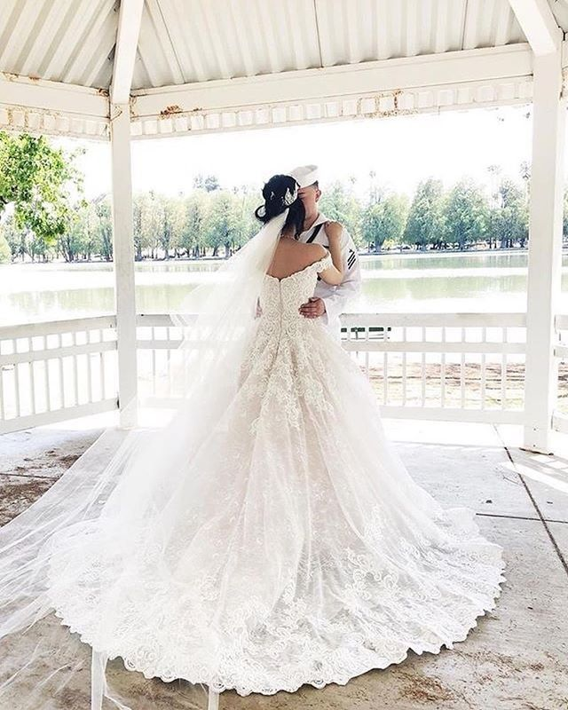 60220044b1a What a stunning Allure Bride in Allure Couture C461!!  regram  arletbridal