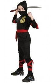 Ninja Kostüm, Erkek Çocuk Kostümleri, Ülke Kostümleri,Erkek Çocuk Ülke Kostümleri,