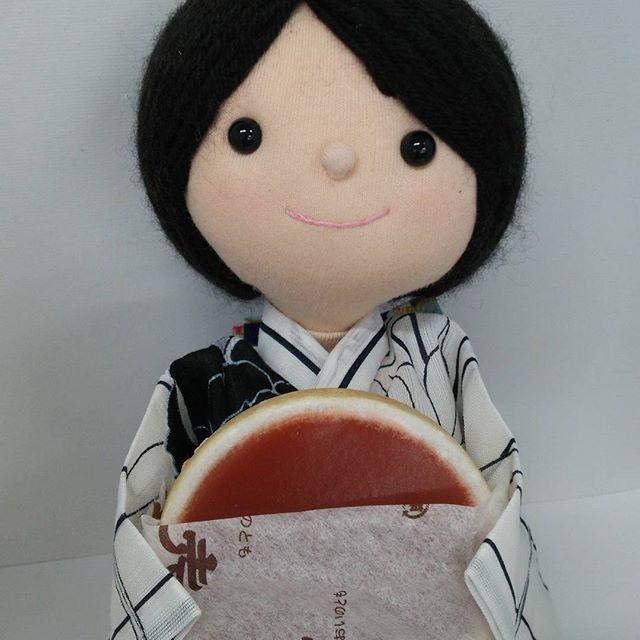 四日市支部からの贈り物🎁 『老伴 おいのとも』三重県の松阪のお菓子。おいしかった😋🍴💕です🎵 #和菓子 #老伴 #松阪 #東亜和裁 #toawasai